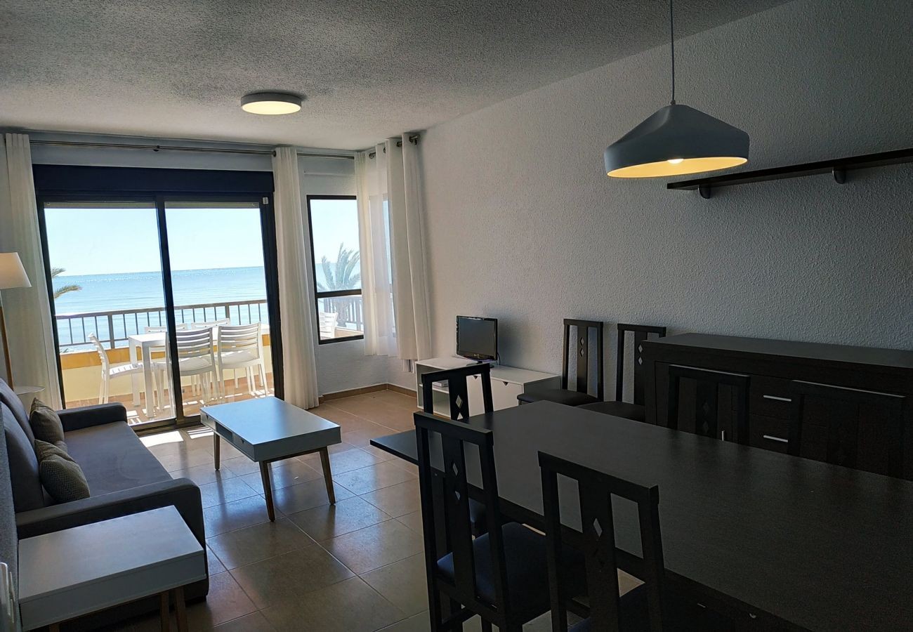 Salón comedor de la vivienda en Albatros Peñíscola