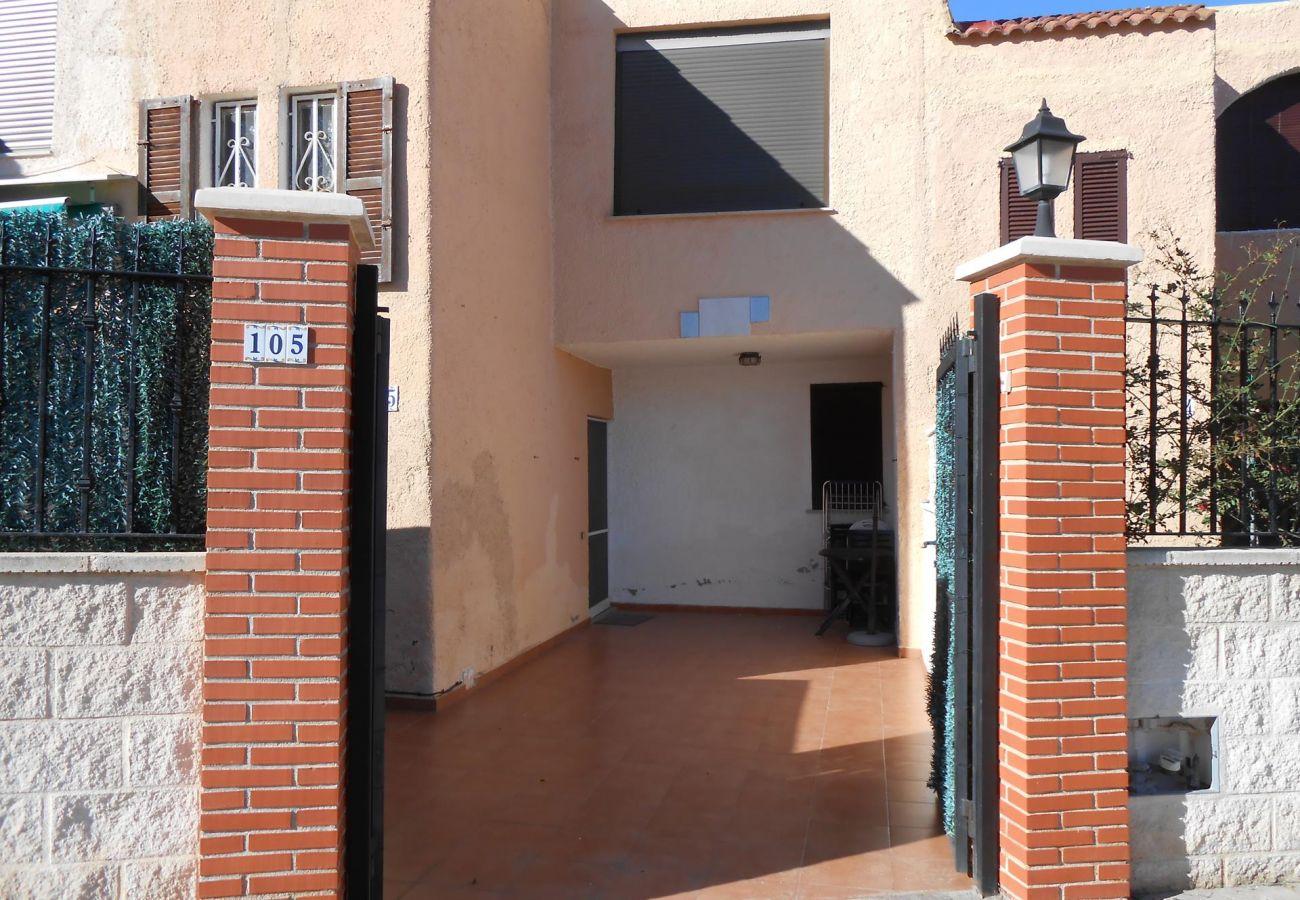 Terraza casa Peñíscola Residencial Orangecosta