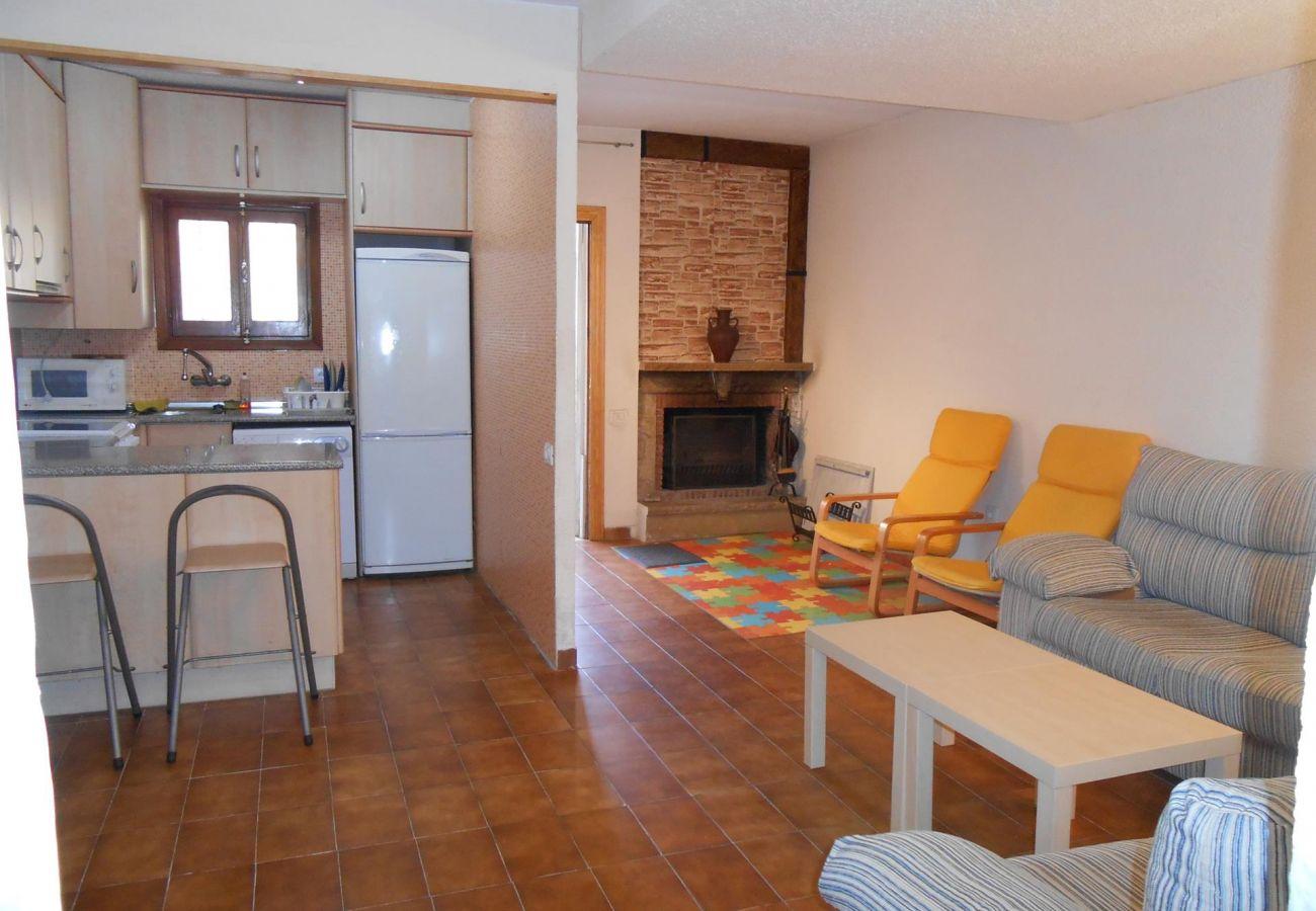 Salon-comedor casa Peñiscola Residencial Orangecosta