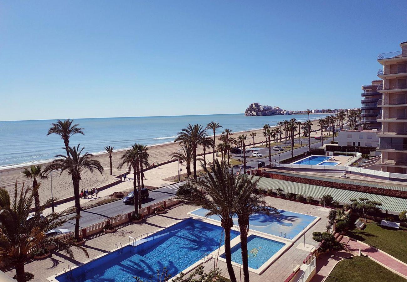 vistas al mar, castillo, playa, vacaciones, familia, niños, excelente situación