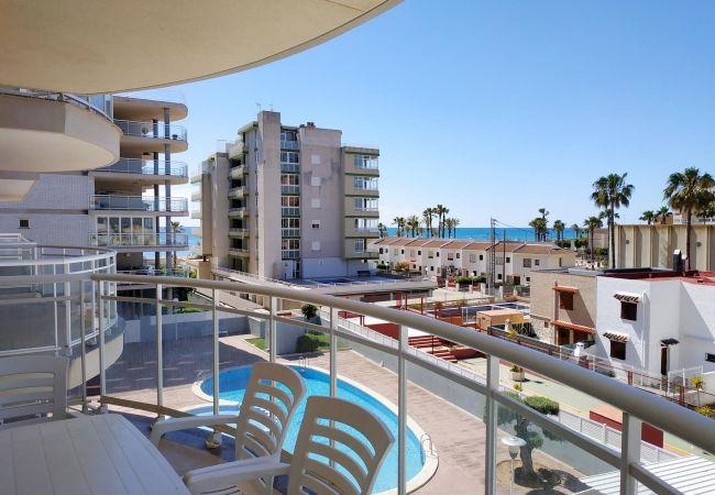 playa, terraza grande, playa, tranquilidad, playa, familia, niños, piscina.