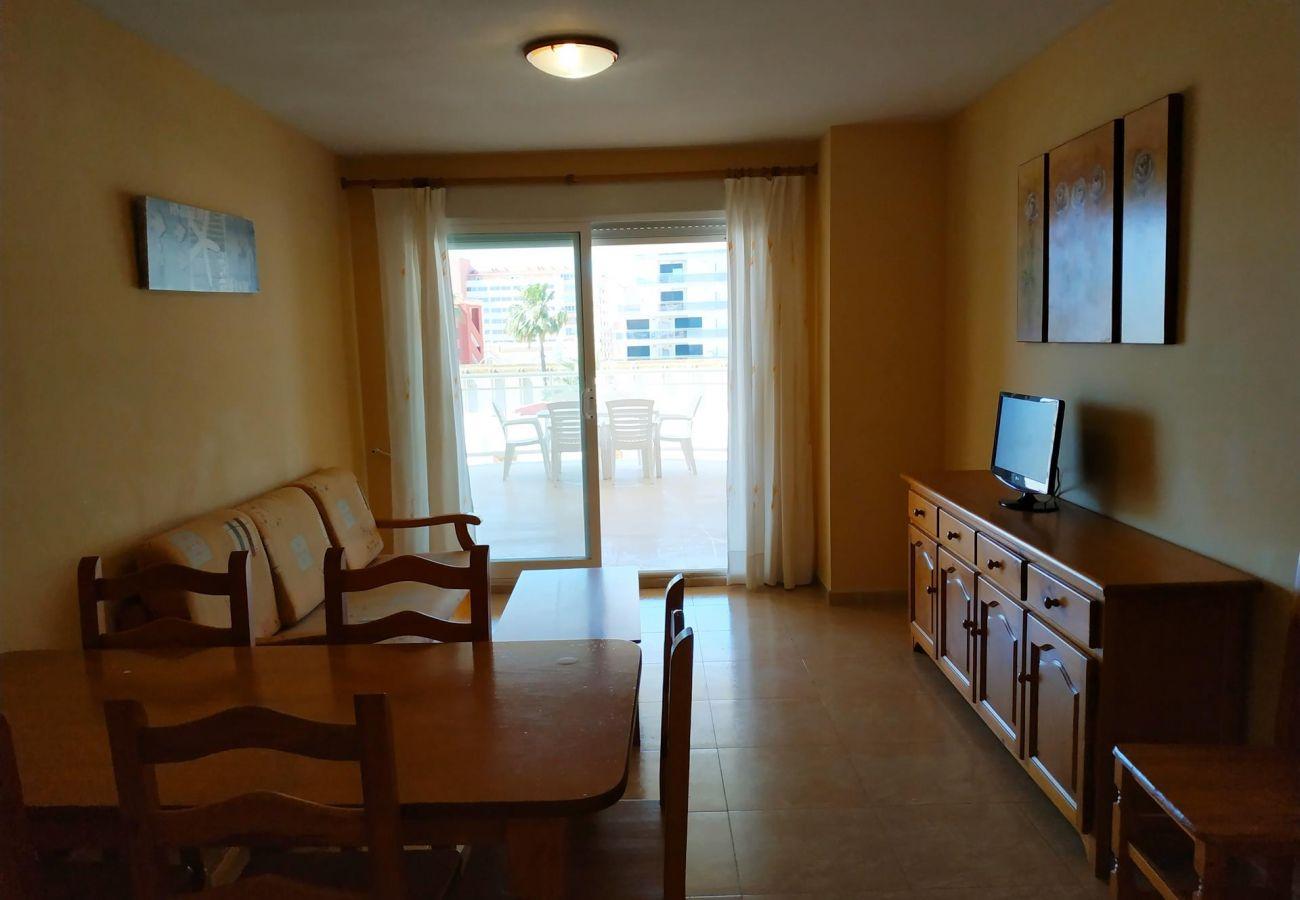 apartamentos amplios y nuevos, Peñíscola, playa, familias, niños, tranquilidad