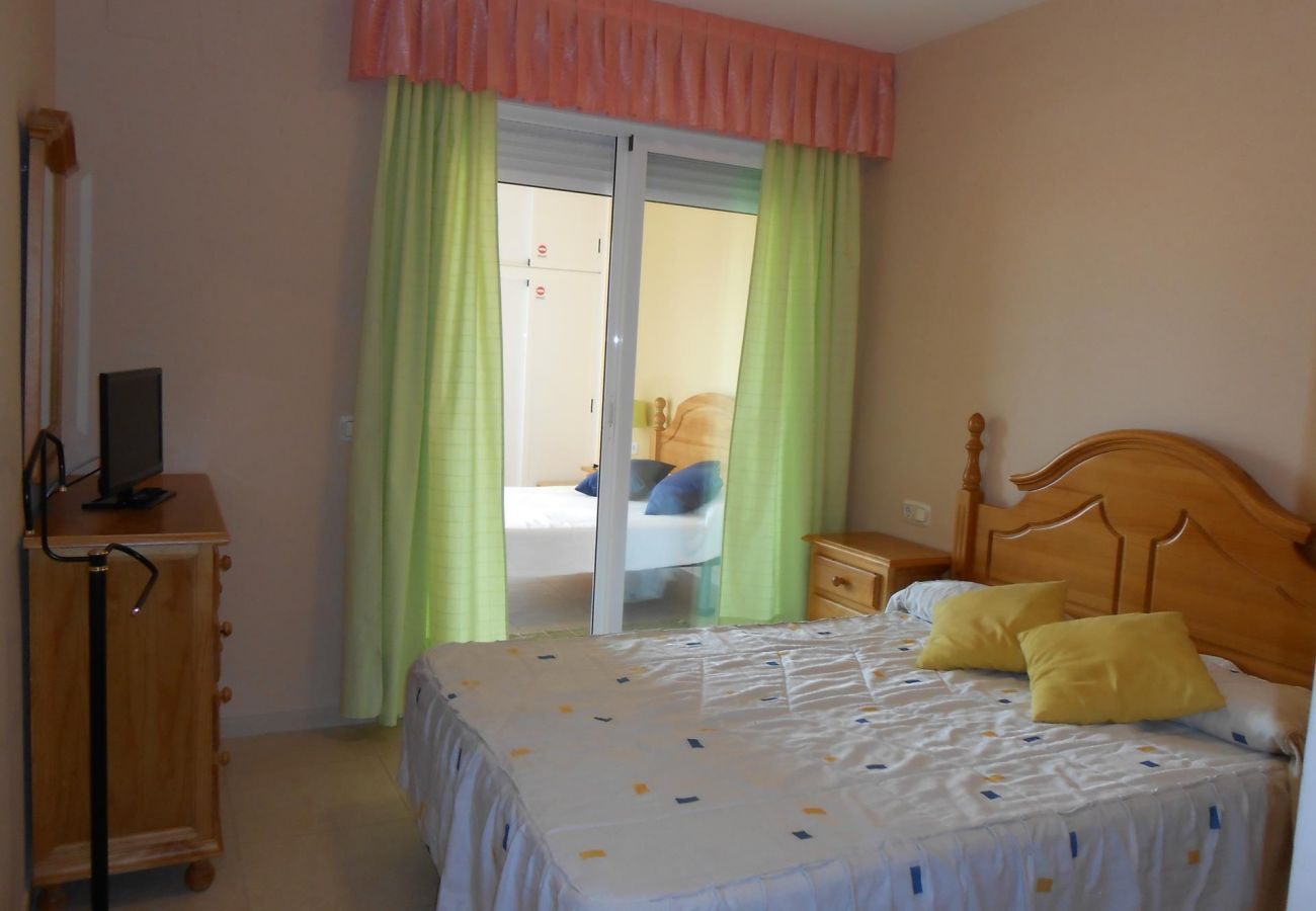 Peñíscola apartment, two bedrooms, near the beach, swimming pool, parking