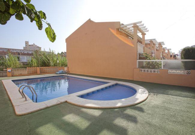 Bungalow/Linked villa in Peñiscola - PERGOLAS