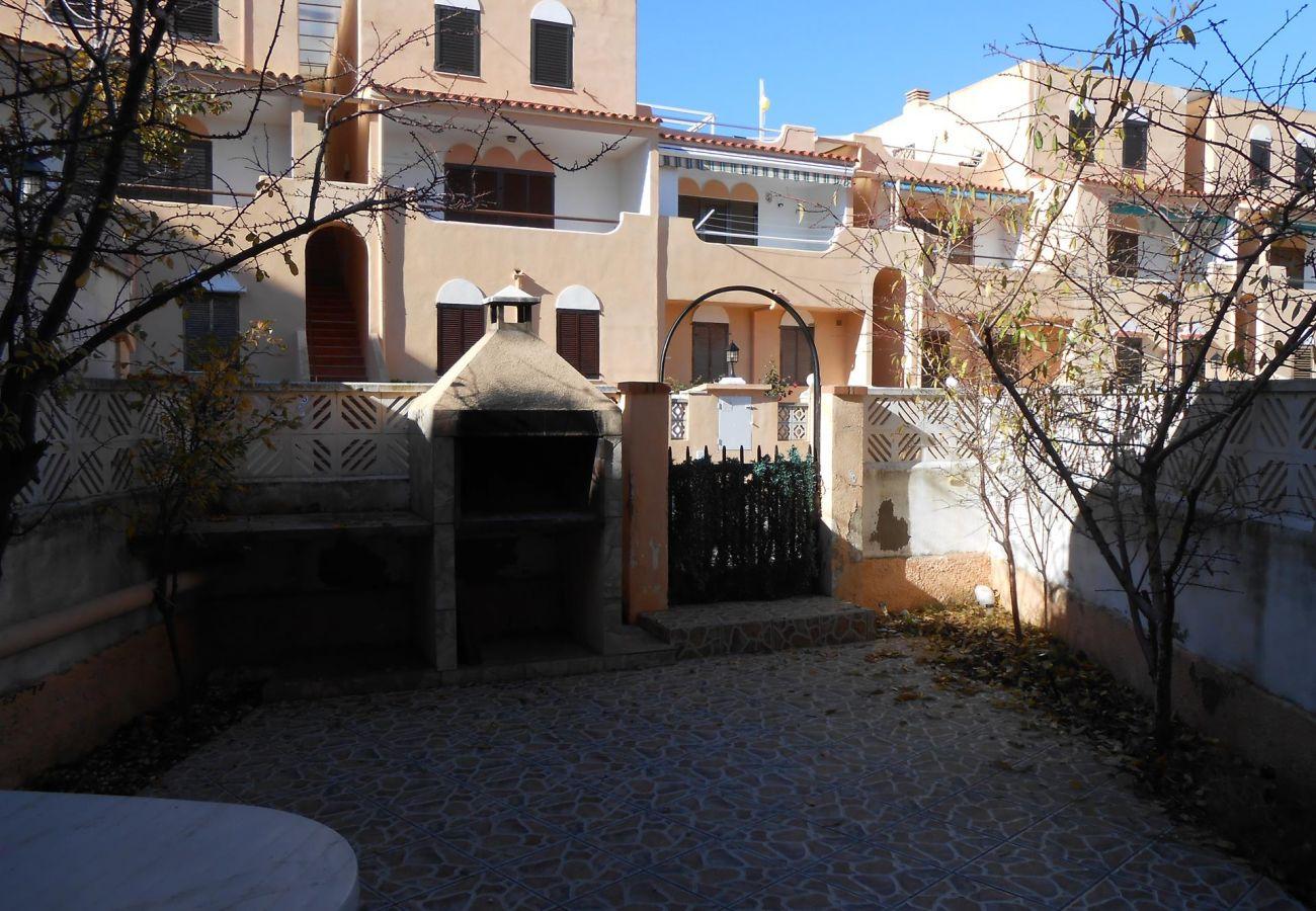 Patio/terrace house Peñiscola Residencial Orangecosta