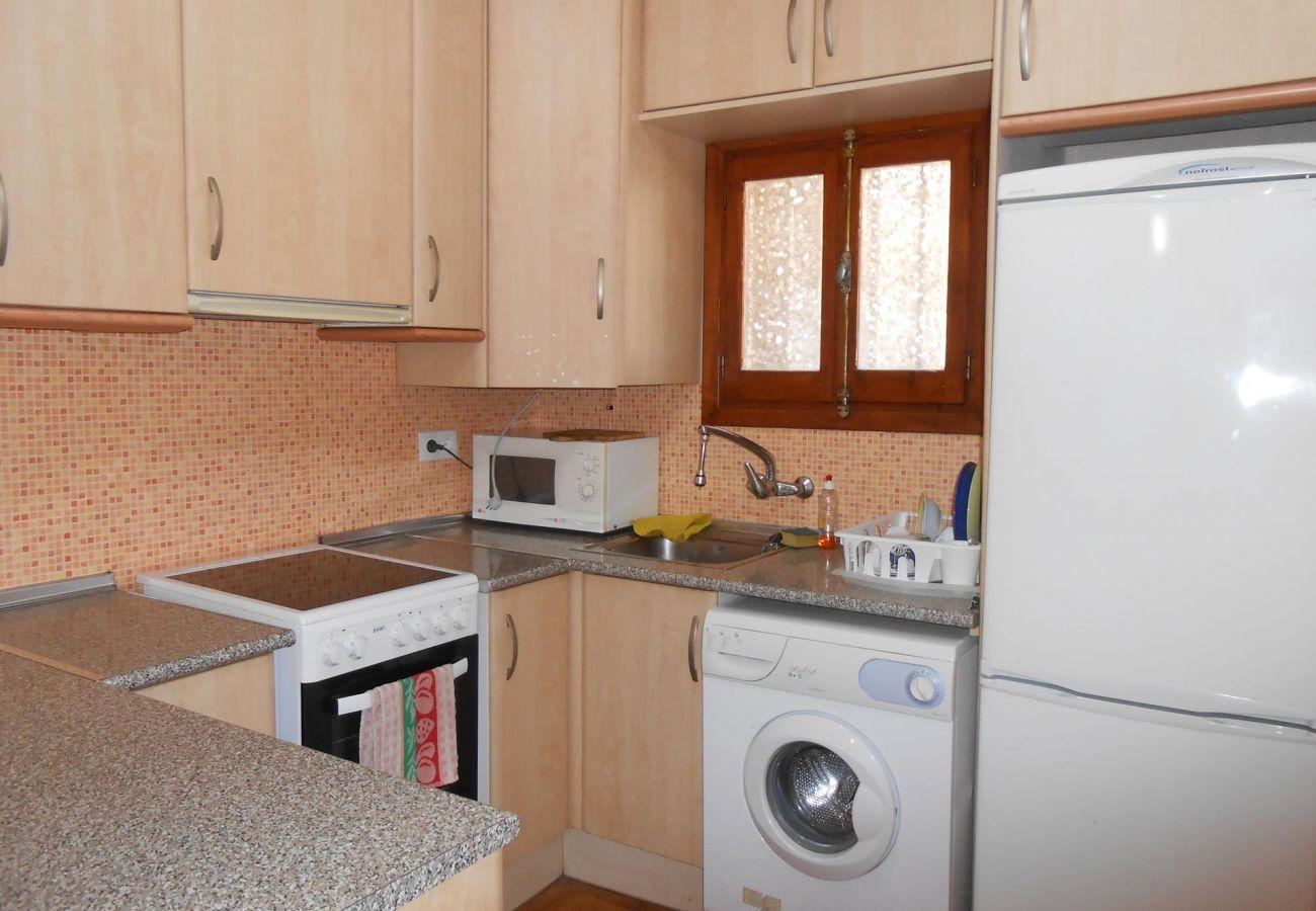 Kitchen house Peñiscola Residencial Orangecosta