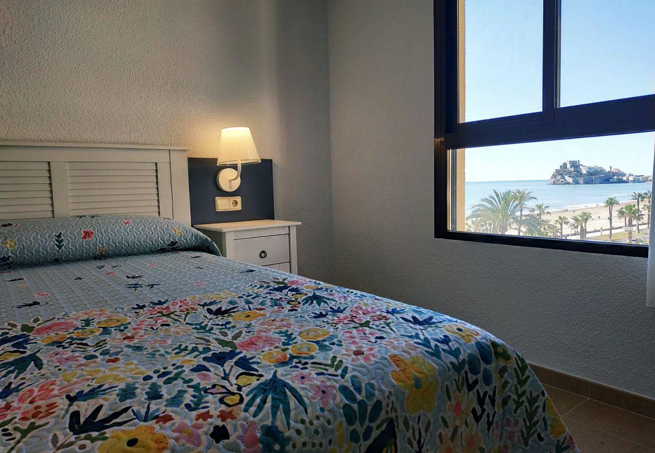 double bedroom, beachfront, family, new