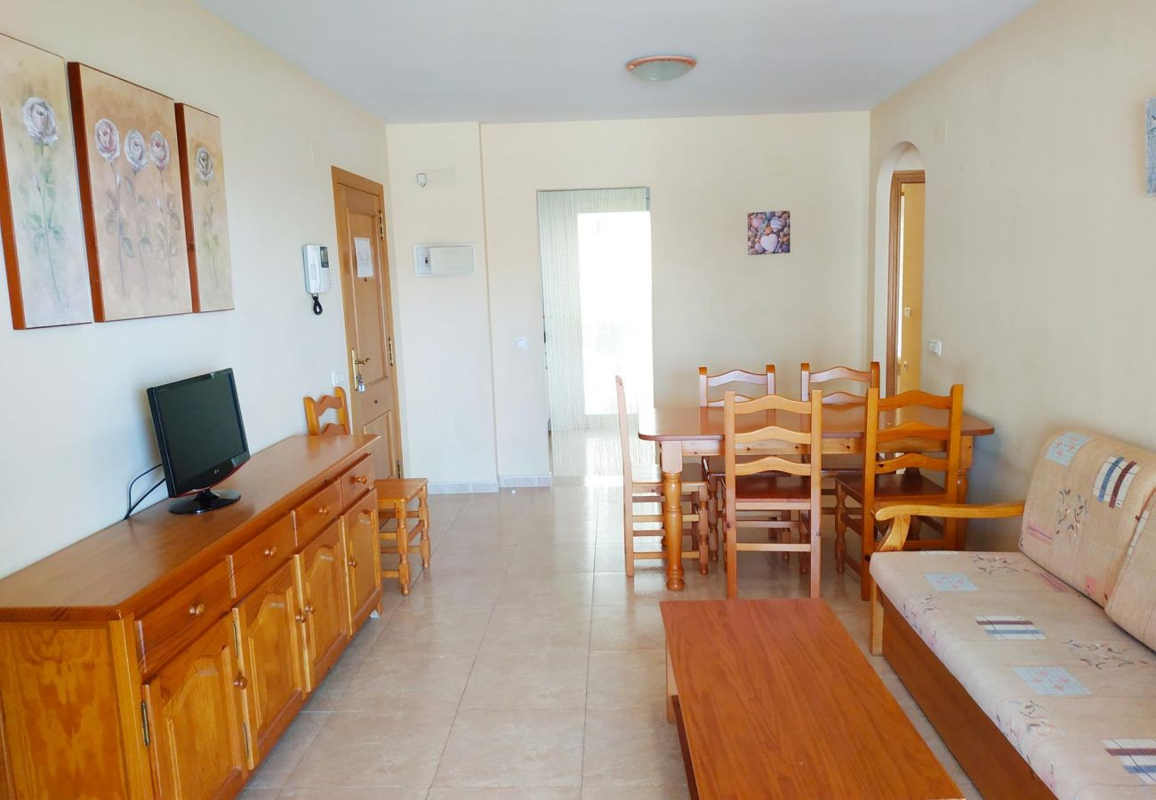 spacious and new apartments, Peñíscola, beach, families, children, tranquility