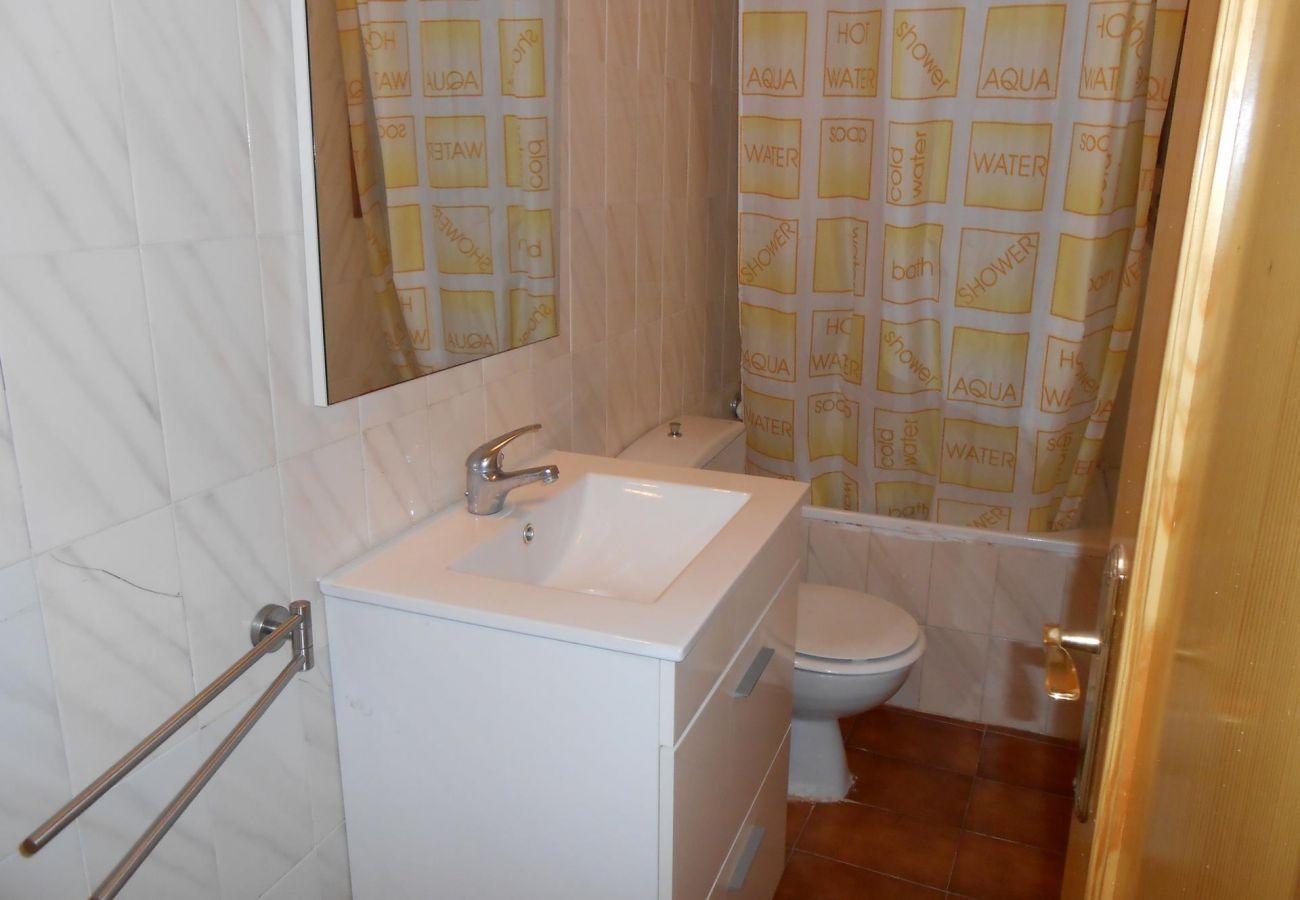 Salle de bains de la maison Peñiscola Residencial Orangecosta