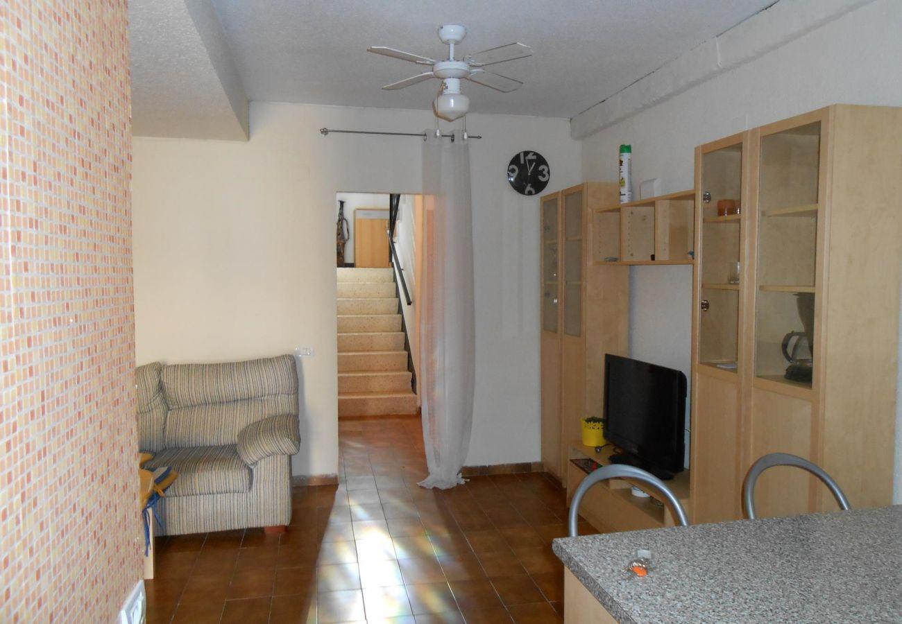 Séjour-salle à manger maison Peniscola Residencial Orangecosta