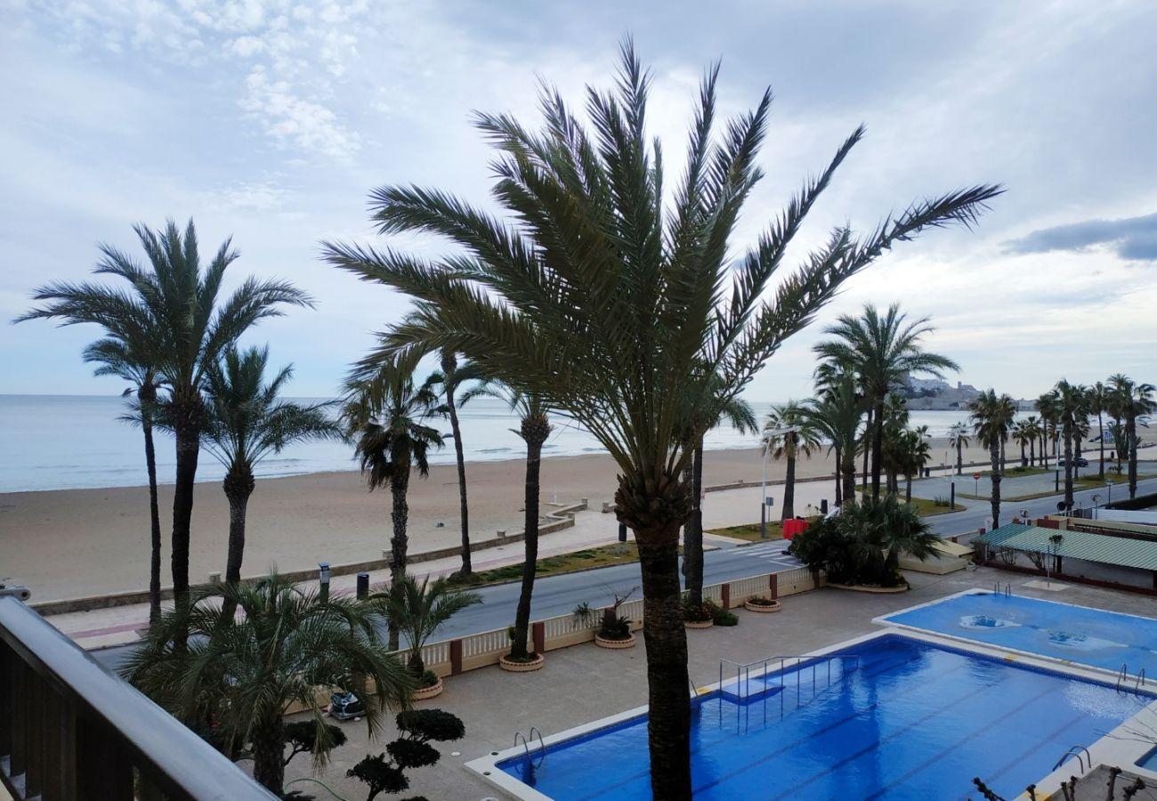 première ligne, terrasse avec vue, appartements neufs, piscine, famille, enfants