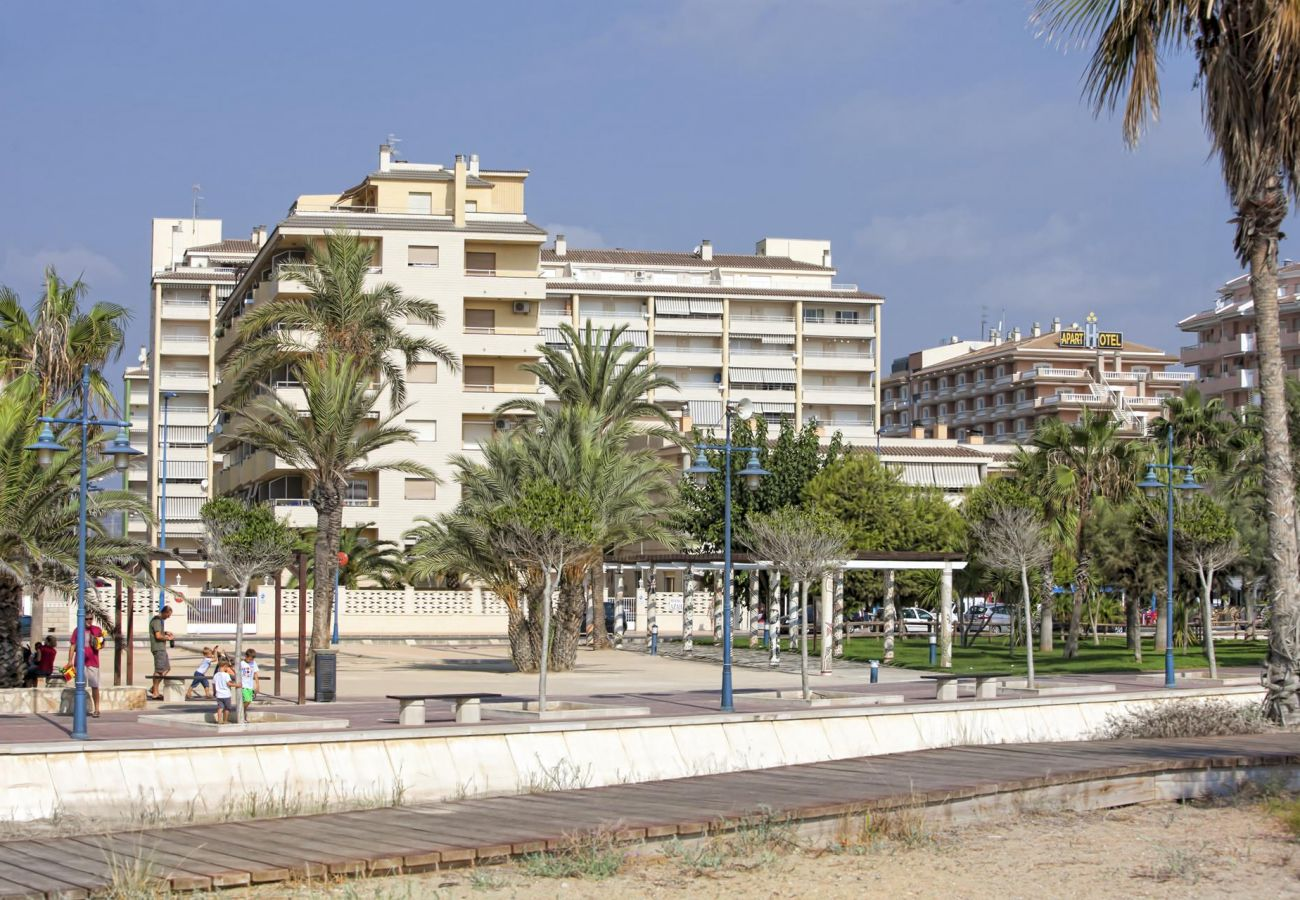 Avenida Papa Luna, Peñíscola, plage, famille, détente, enfants